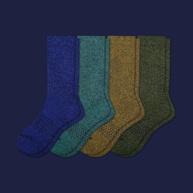 Men's Classic Marls Calf 4Pack Calf socks, Calves, Socks