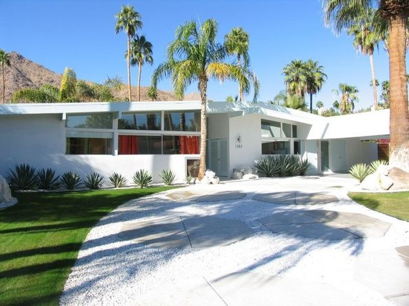 Palm Springs Home Mid Century Exterior Palm Springs Mid Century Modern Mid Century Modern House