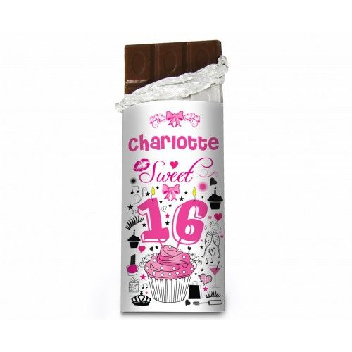 Sweet 16 Chocolate Bar | Chocolate | Exclusively Personal