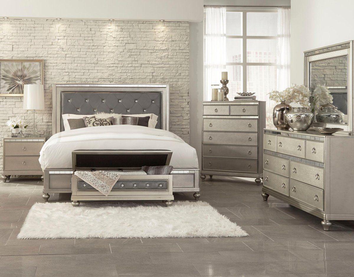 Luxury Bed Set In 2020 Bedroom Sets King Bedroom Sets Luxury