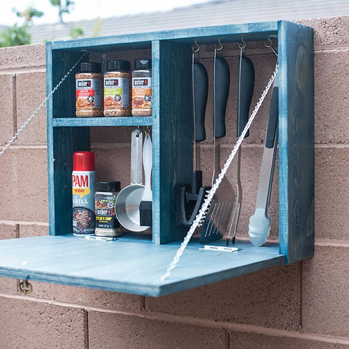 13 Brilliant Ways To Store Grill Tools