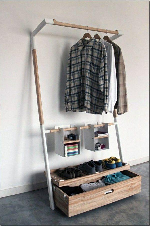 ankleidezimmer selber bauen kreative bastelideen furniture - garderobe selber bauen schner wohnen
