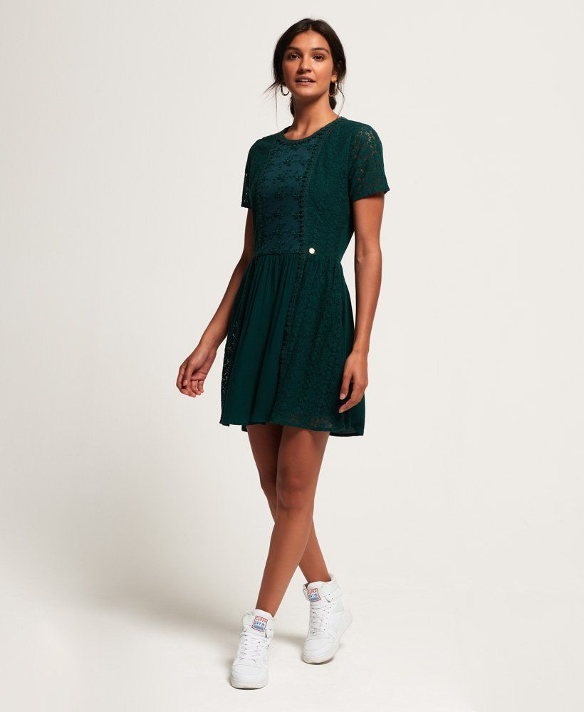 1cb7c97572 Superdry Ella Lace Panelling Dress | Graduation dress in 2019 ...