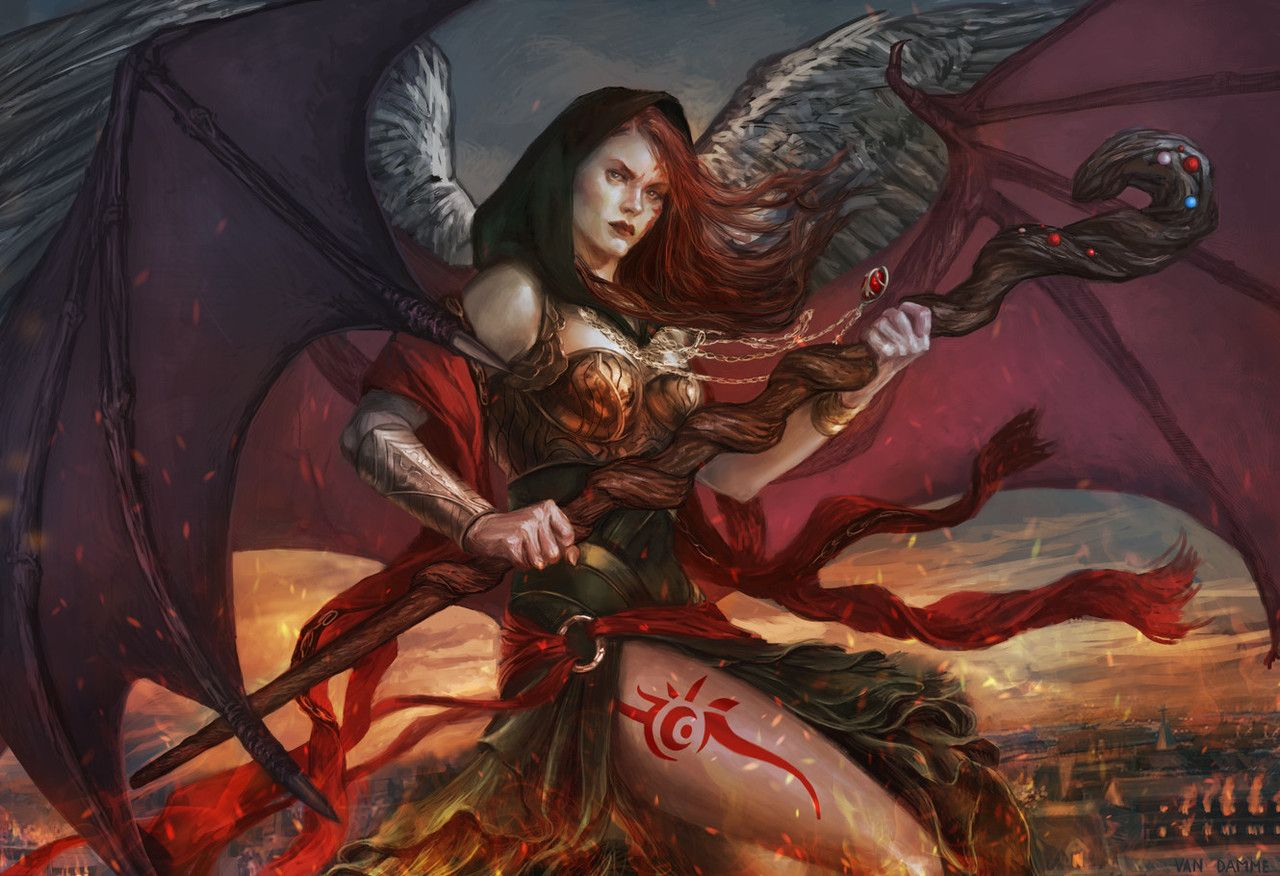 Kaalia Of The Vast By Diana Van Damme Magic The Gathering