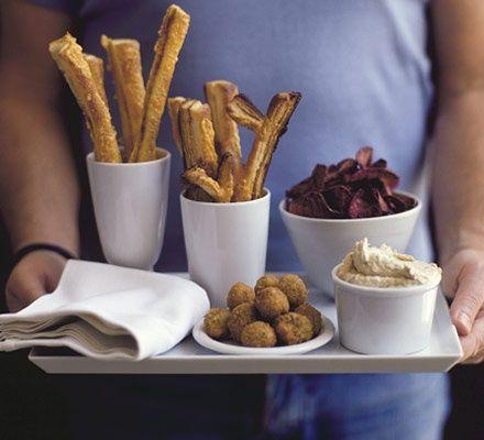 Smoked mackerel dip dips-finger-foods