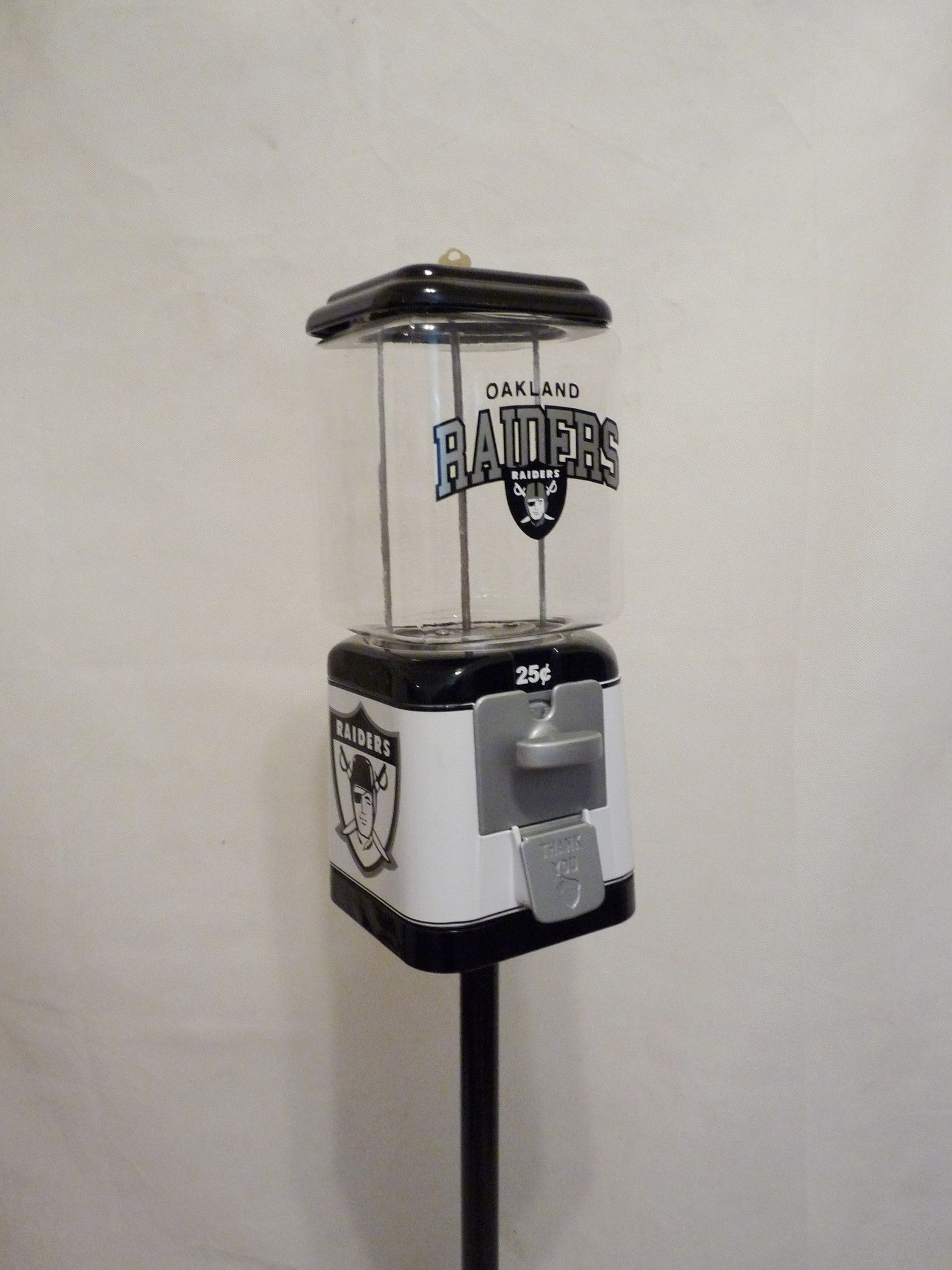 Oakland Raiders gumball machine + stand & Oakland Raiders gumball machine + stand   Raiders Gumball and ... islam-shia.org