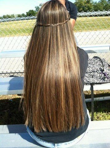 Long hair!!!!