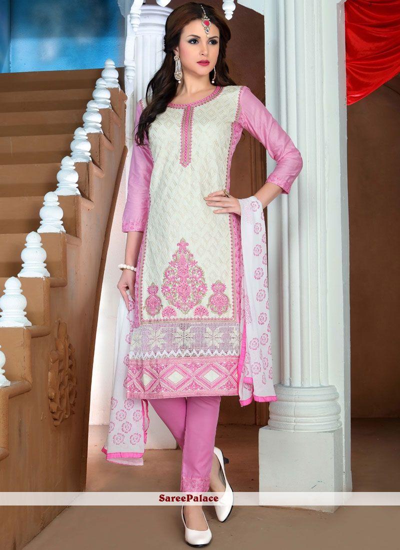 Cotton Pant Style Suit Design Images