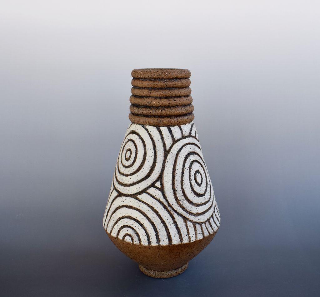 Ruth fugar pottery artist carved vessel pots pottery clay ceramic artists reviewsmspy