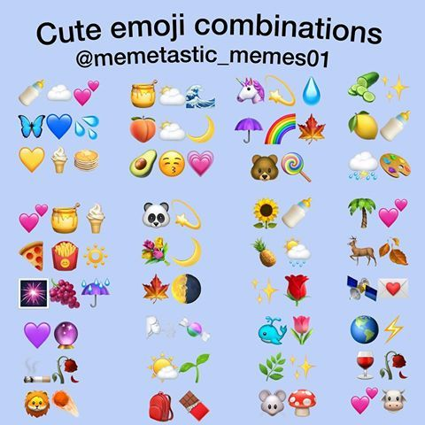 Pin By Kathryn Alexander On Captions Instagram Emoji Emoji Combinations Cute Emoji Combinations