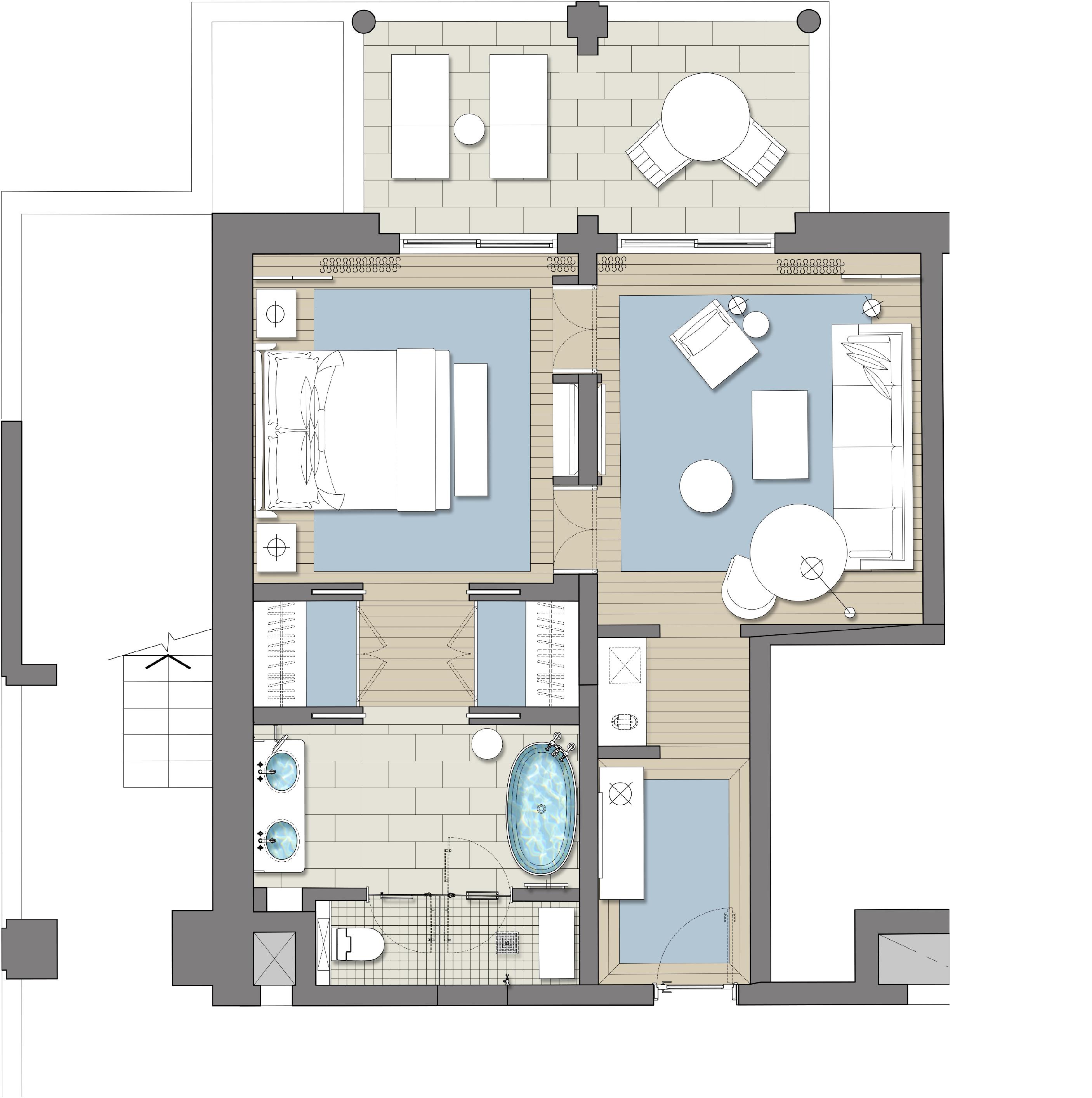 Architectural Designer At Ga Design International Hotel Room Design Hotel Room Design Plan Hotel Bedroom Design