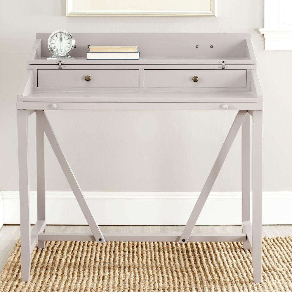 Safavieh Wyatt Grey Writing Desk - Overstock™ Shopping - Great Deals ...