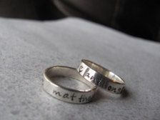 Personalized ring, $28.39