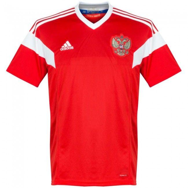 364f0e8196ec5 Camiseta de Rusia 2018-2019 Local  shirt  style  football  futbol  russia