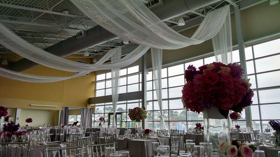 Ocean Gateway In Portland Maine Is An Incredible Seaside Venue With 25 Ceilings