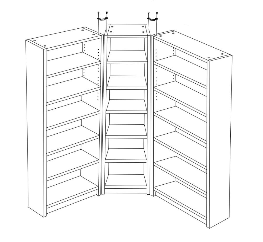 30++ L shaped bookcase ikea inspirations