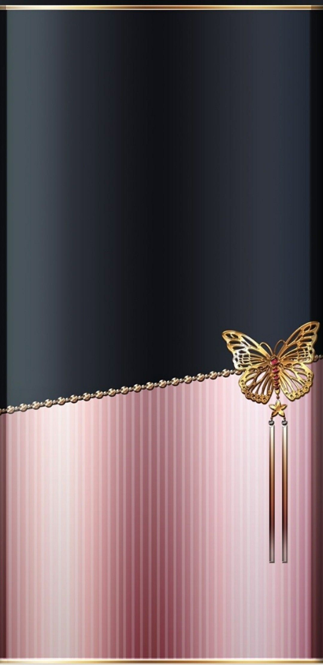 black and rose gold fend cran fond ecran arri re. Black Bedroom Furniture Sets. Home Design Ideas