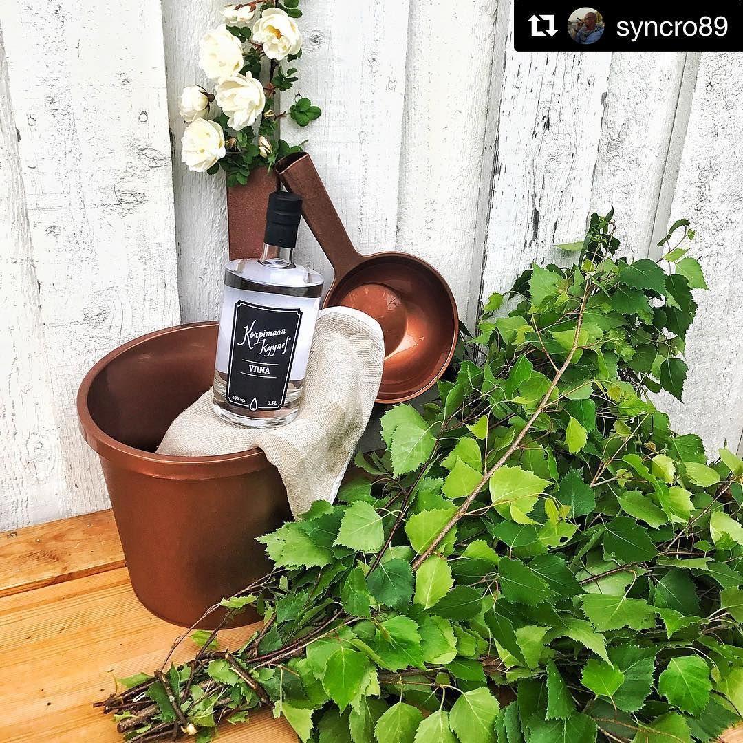 Tilaa nyt Korpimaan Kyynel Viina Alkon verkkokaupasta! Hyvin ehtii juhannusjuhliin! Kiitos @syncro89 mahtavasta kuvasta! #Repost @syncro89 (@get_repost)  ・・・  Midsummer eve is almost here, in Finland we enjoy sauna and fresh craft vodka 💧👌🏻🔥🇫🇮 #korppari #korpimaankyynel #korpimaankyynelvodka #sauna #vihta #vasta #juhannusruusu #juhannus #craftvodka #madeinfinland #suomi100 @korpimaan_kyynel #orthex
