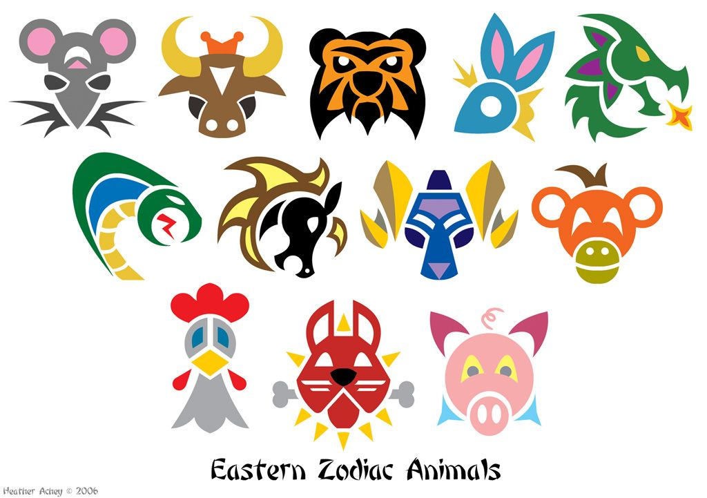 Chinese Zodiac Animals Zodiac Animal Symbols By Tibby101 On