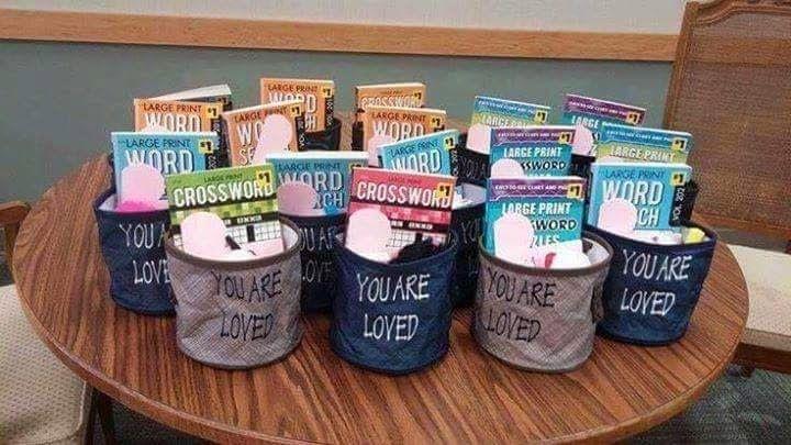 Sponser A Gift For Nursing Home Residents Nursing Home Crafts
