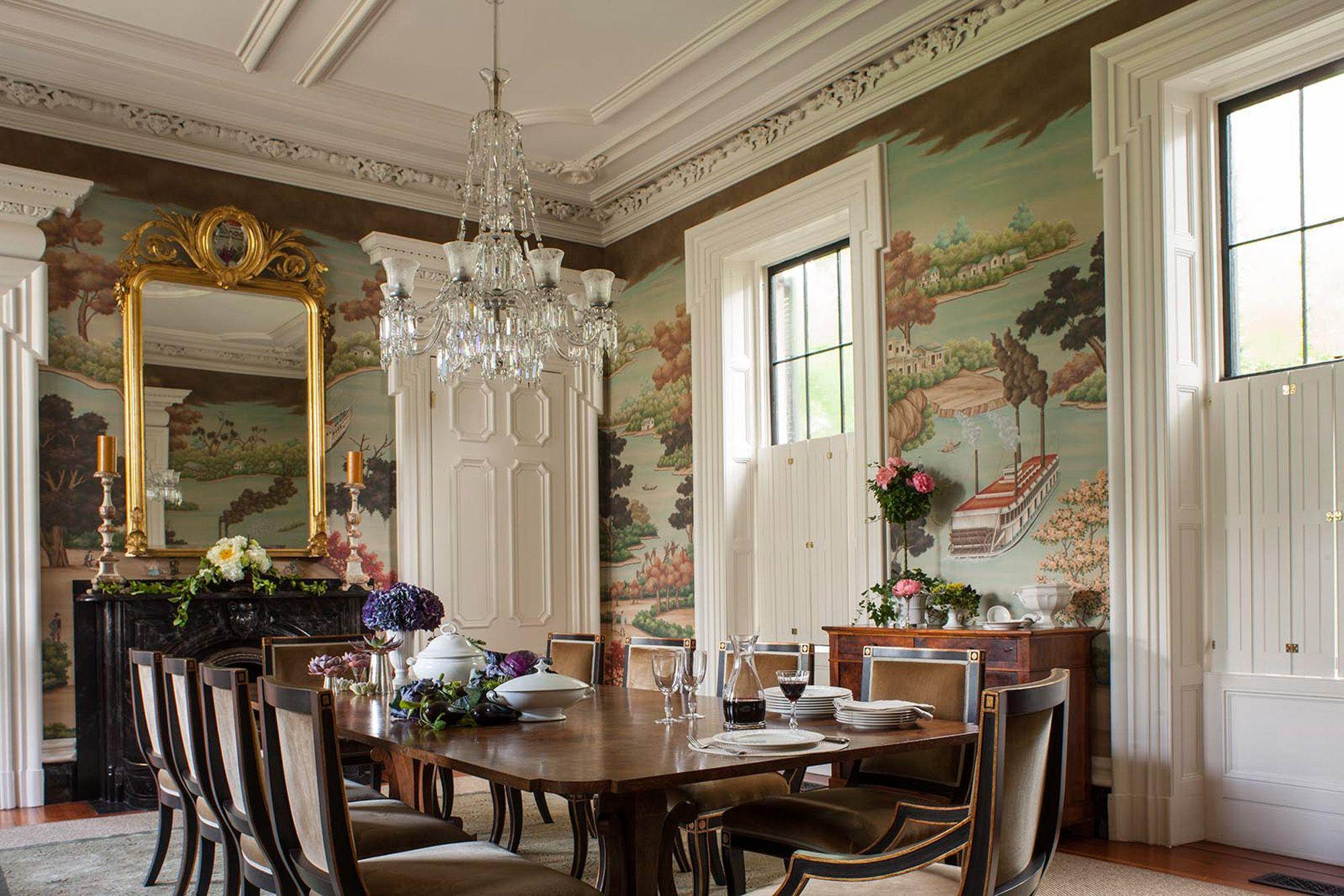 Charleston Slc Interiors Slc Interiors Dining Room Victorian