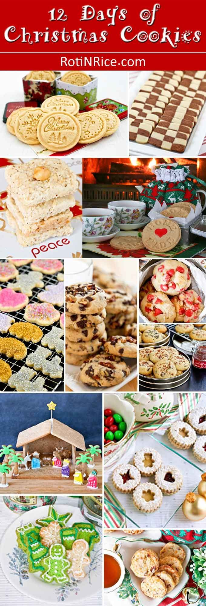 12 Days of Christmas Cookies | Egg free, Christmas cookies and ...