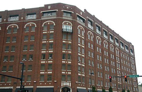 400 West Douglas Avenue Wichita Kansas 67202 Broadview Hotel Web Site Location The Historic