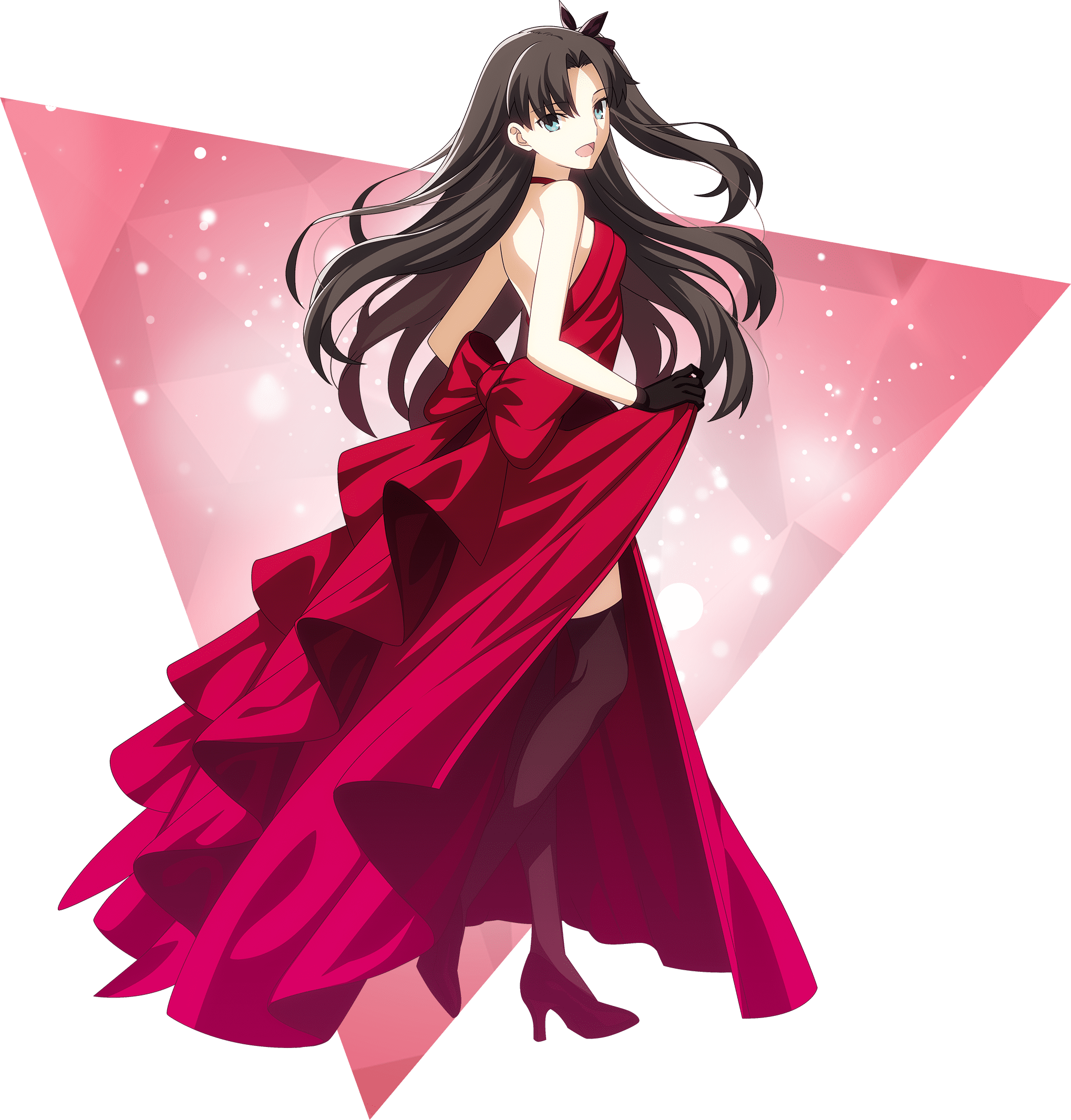 Nakau Fate Stay Night 15th Celebration Project Rin Tohsaka Fate Type Moon Fate Stay Night Rin Fate Stay Night Anime Fate Stay Night