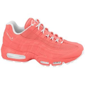 WoMen Nike Air Max 95 Hot Punch Hot Punch Storm Pink White Shoes