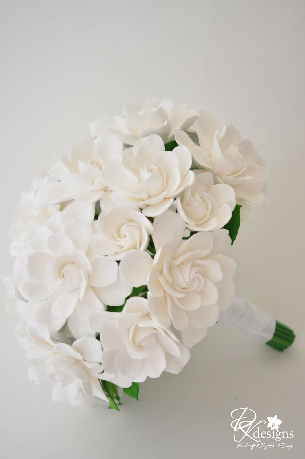 White Gardenia Bouquet And Matching Hair Flower Gardenia Bouquet White Gardenia Flowers In Hair