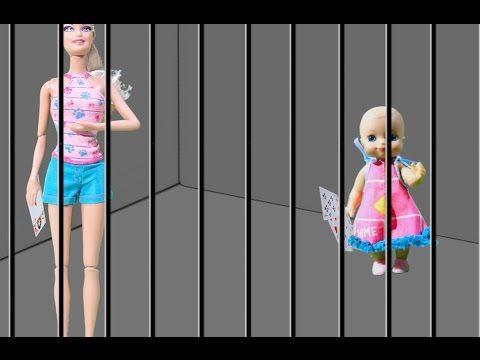 Мультики для детей Мама Барби малыш тюрьма: Кен Пранк и ...