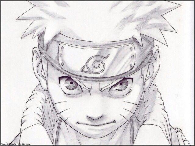 Narauto Drawing For Carolina Farzzari With Images Naruto