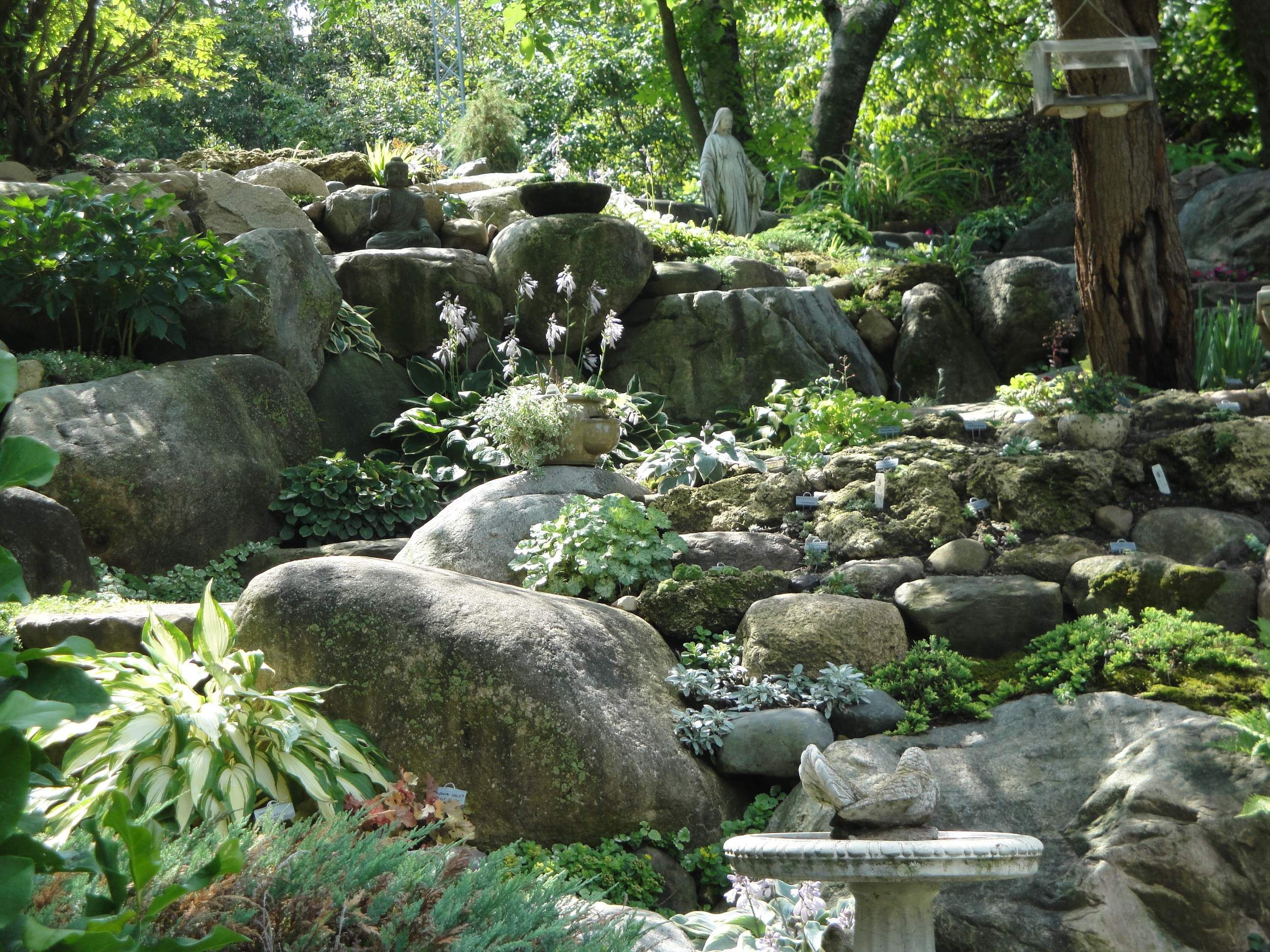 Rock garden mountain