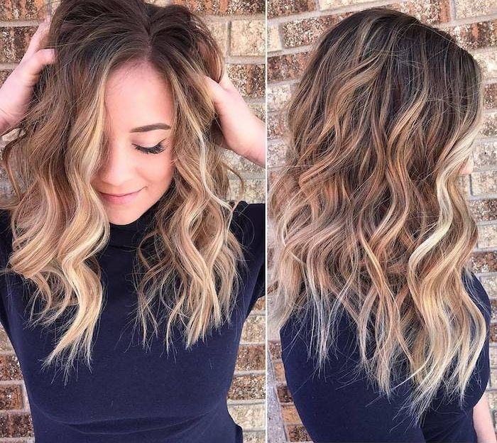 1001 + Ideen für Balayage braun - Haarstylings zum