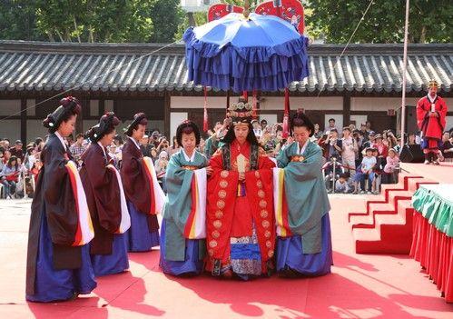 Queen And Korean Visit