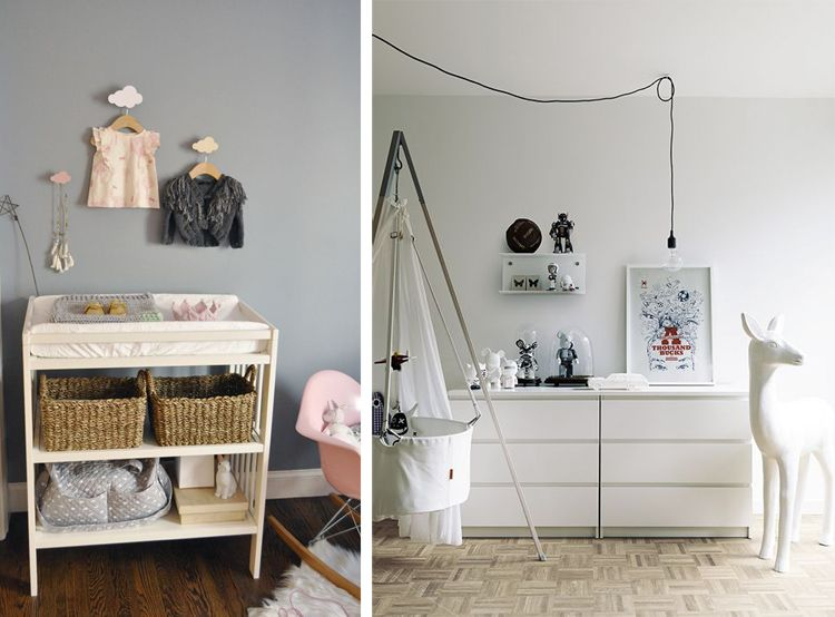 Photo 6 nursery deco scandinavian habitacion bebe - Decoracion habitacion bebe ...