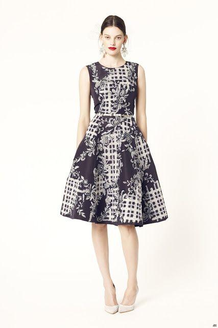 Atractivos vestidos de moda | Colección de vestidos Oscar de la Renta