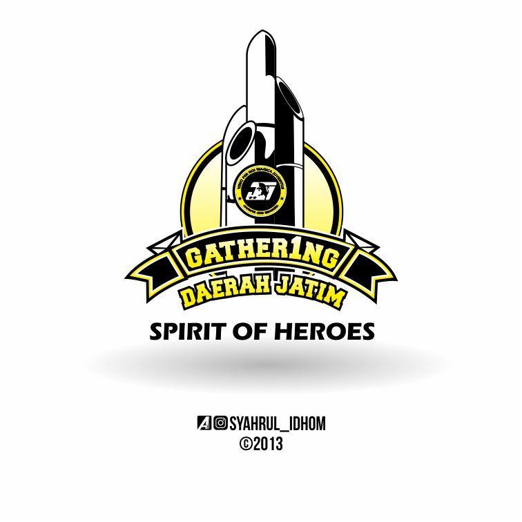 Logo Gathering Juventus Club Indonesia Jawa Timur Spirit Of Heroes