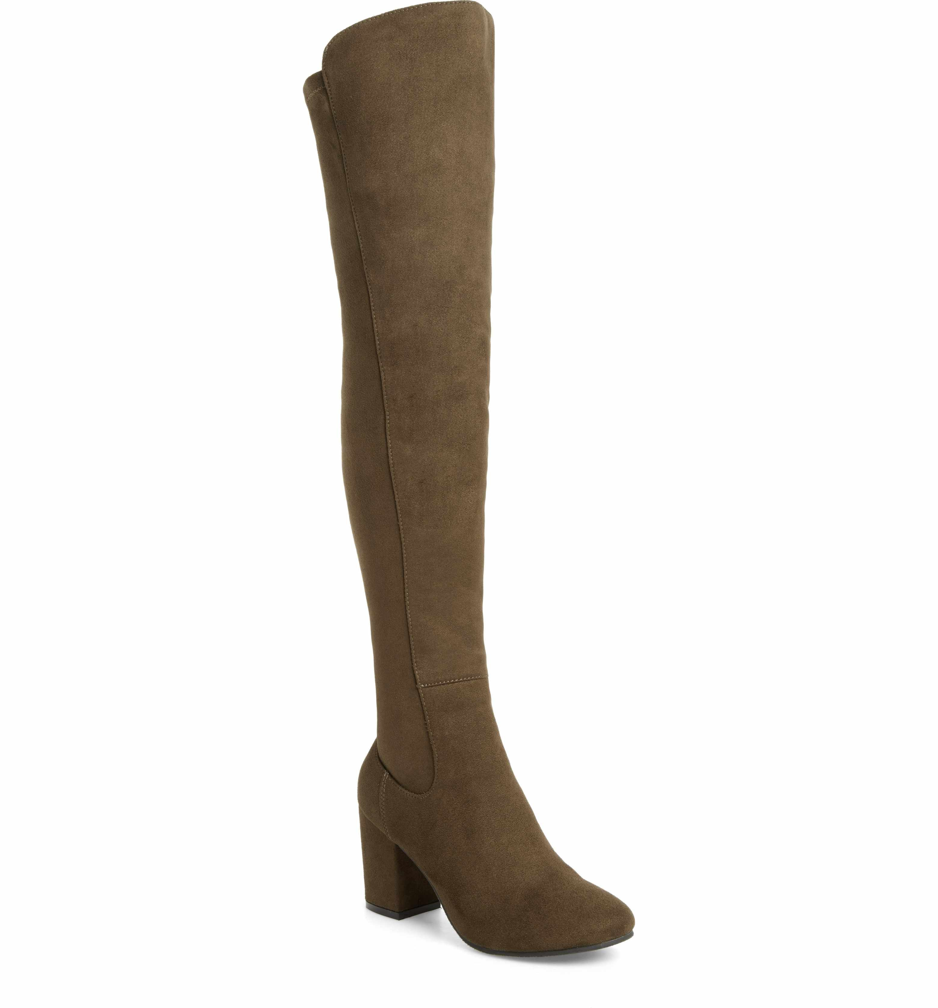 64ab8d99a09 Treasure   Bond Lynx Stretch Over the Knee Boot (Women)
