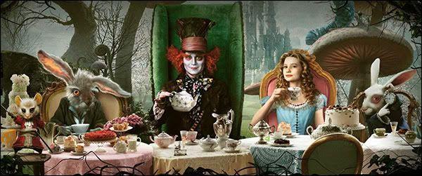Alice In Wonderland Mad Hatter Tea Party Tim Burton