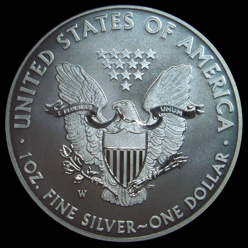 2013W Enhanced American Eagle Silver Uncirculated Coin