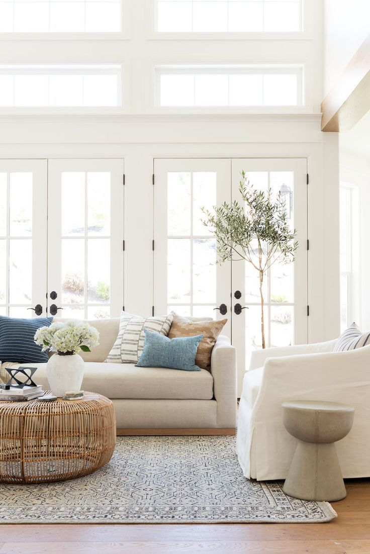 Elements Of A Casual Cool Sitting Room Bright Living