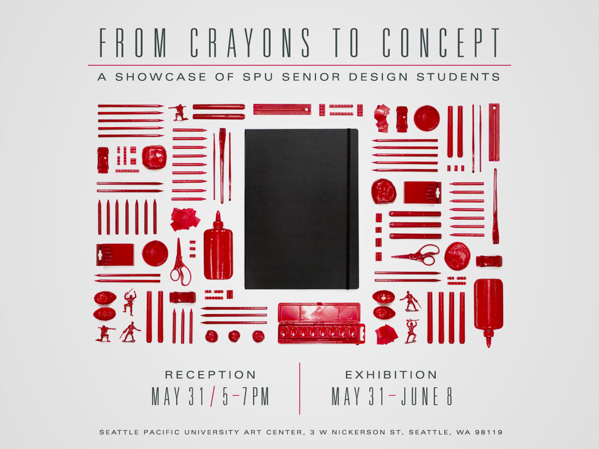 Crayons to Concept — Visual Communication Design Senior Show ...