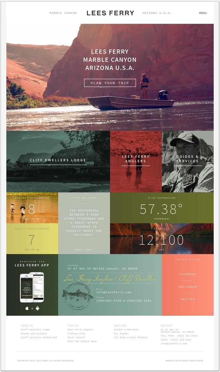 Lees Ferry Design Css Author Web Layout Design Web Development Design Web Design