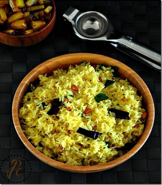 lemon rice recipe south indian lunch box ideas prema s culinary