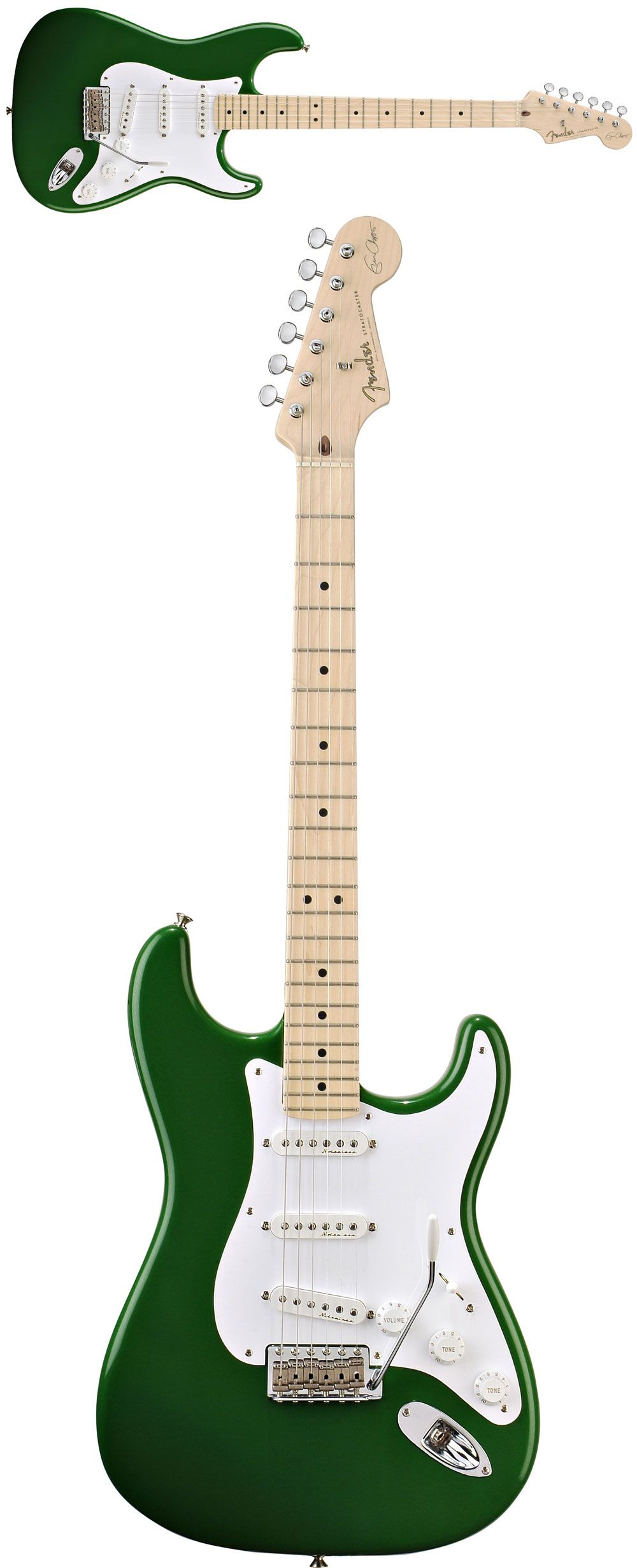 Fender® Eric Clapton Strat® Candy Green w/Case