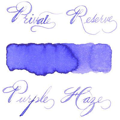 Private Reserve 66 ml Bottle Fountain Pen Ink, Purple Haze