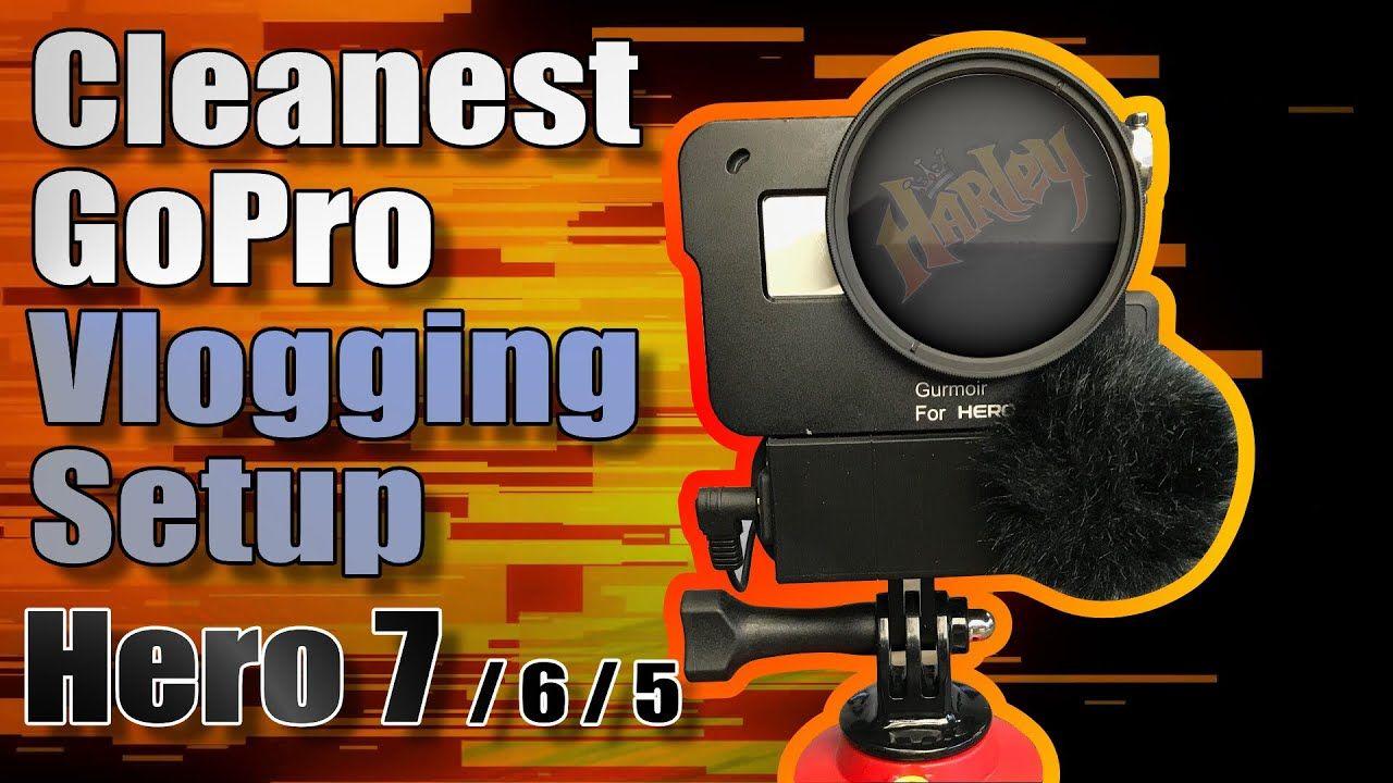 GoPro Hero 7 Vlogging Setup (Hero 6/5) Gopro hero, Gopro