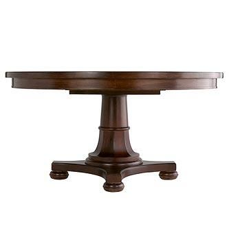 Martha Stewart Furniture With Bernhardt   Skylands   Grand Lake Pedestal  Table   DISCONTINUED ITEM
