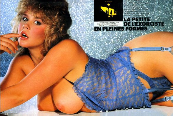 Linda Blair 34c 24 34 24 Yrs In Playboy March1983 Linda En 2019
